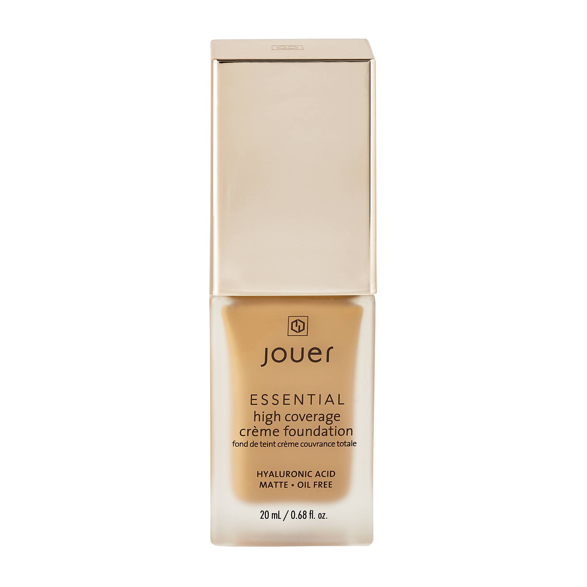 Jouer Cosmetics Essential High Coverage Creme Foundation Cafe 20ml