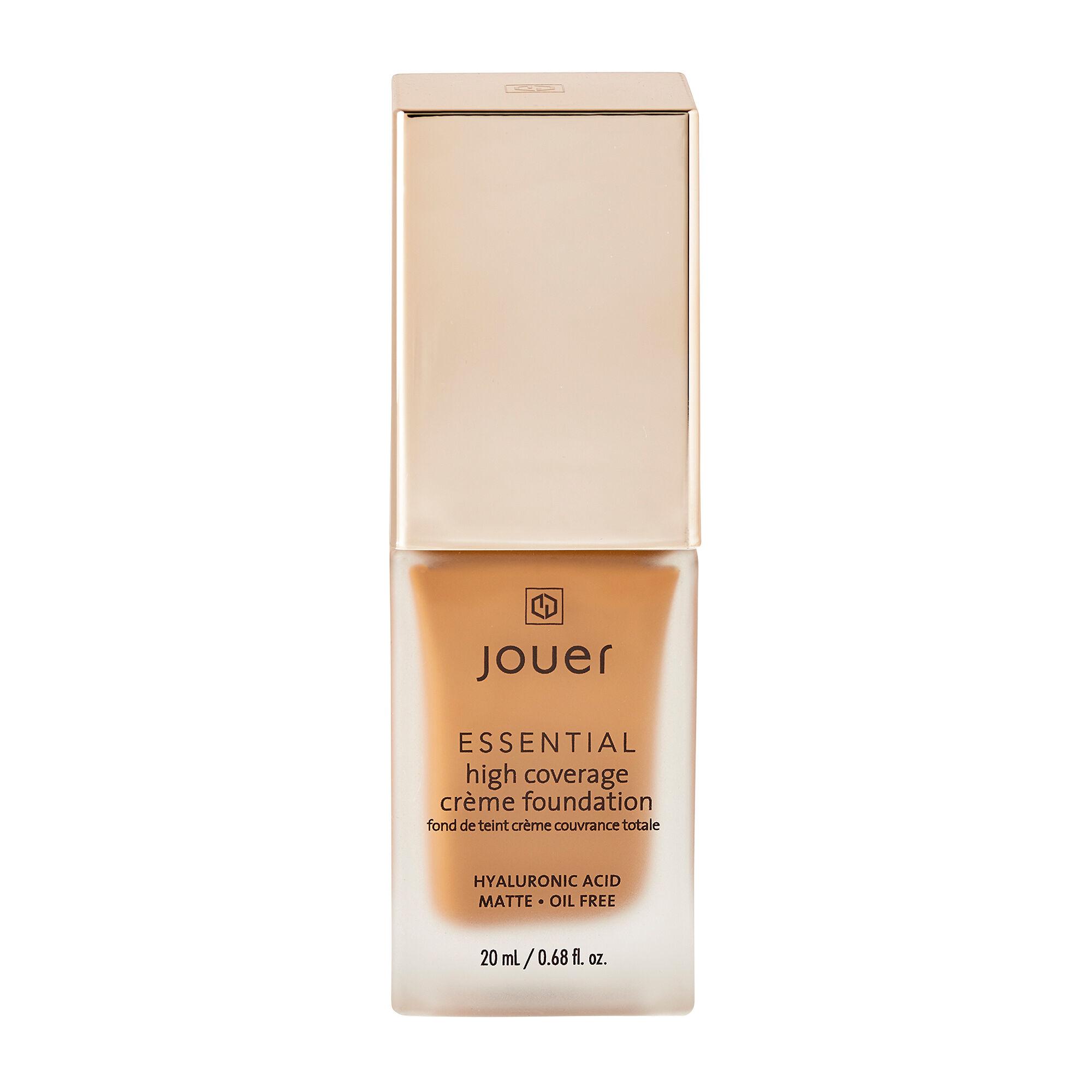 Jouer Cosmetics Essential High Coverage Creme Foundation Cocoa 20ml