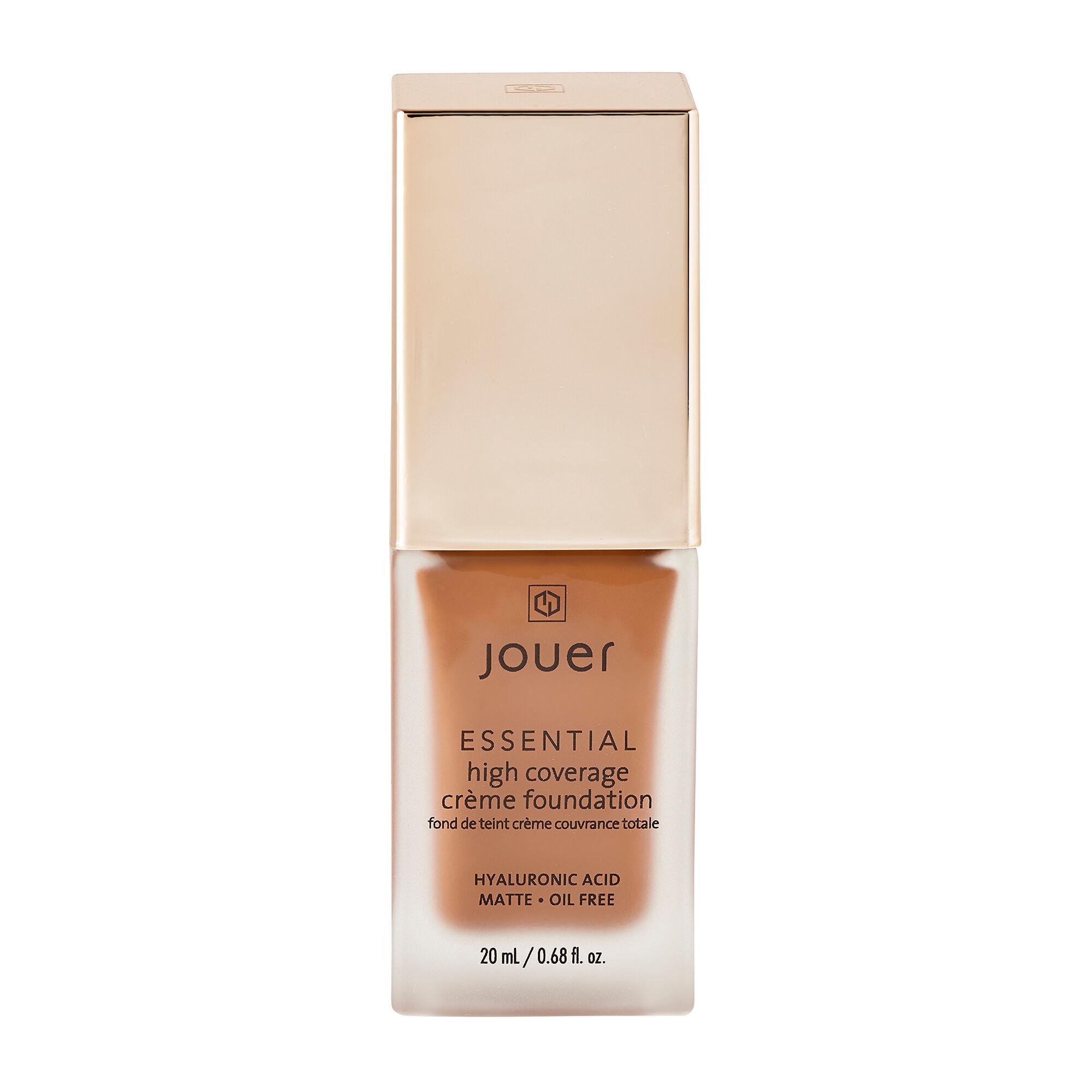 Jouer Cosmetics Essential High Coverage Creme Foundation Carob 20ml