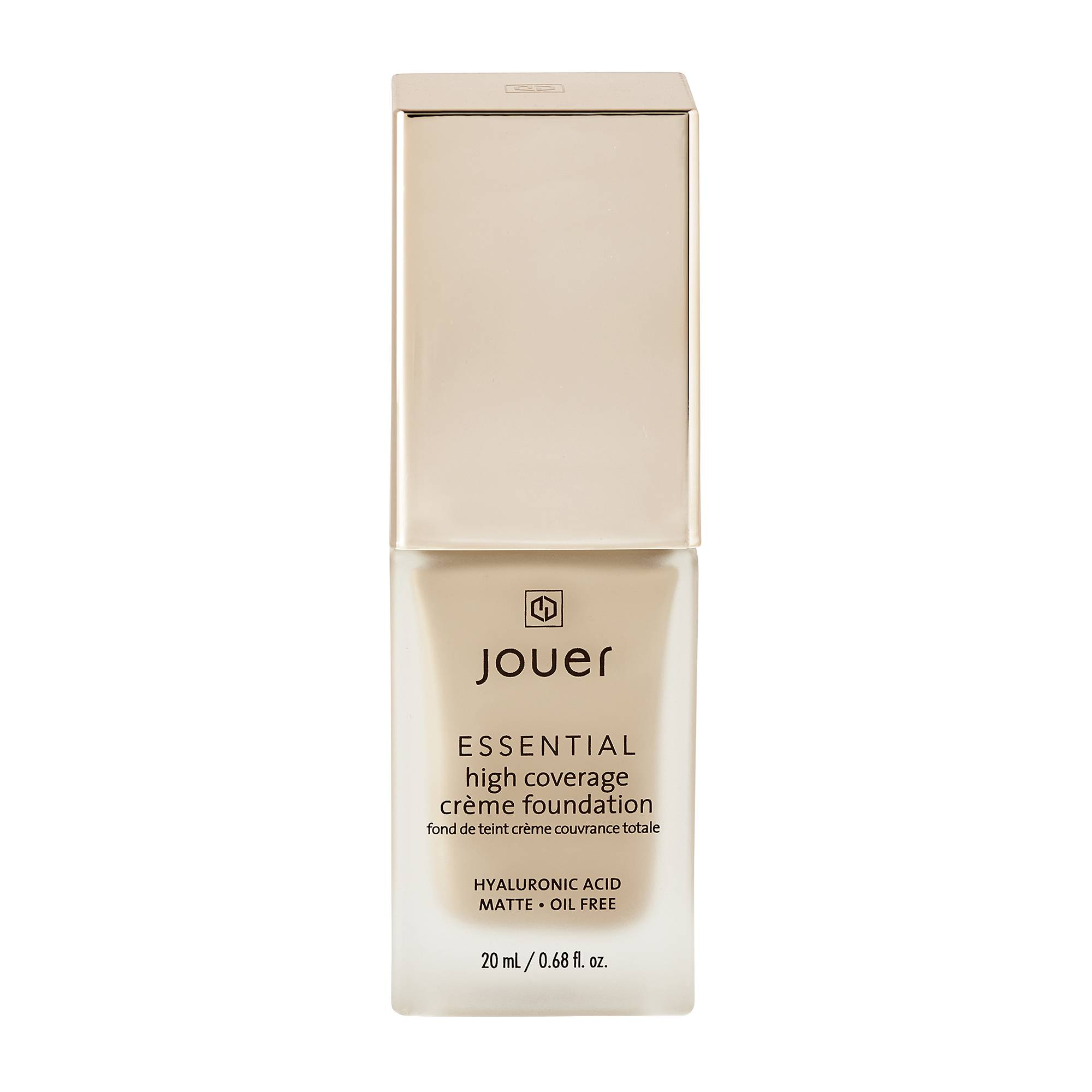Jouer Cosmetics Essential High Coverage Creme Foundation Fawn 20ml