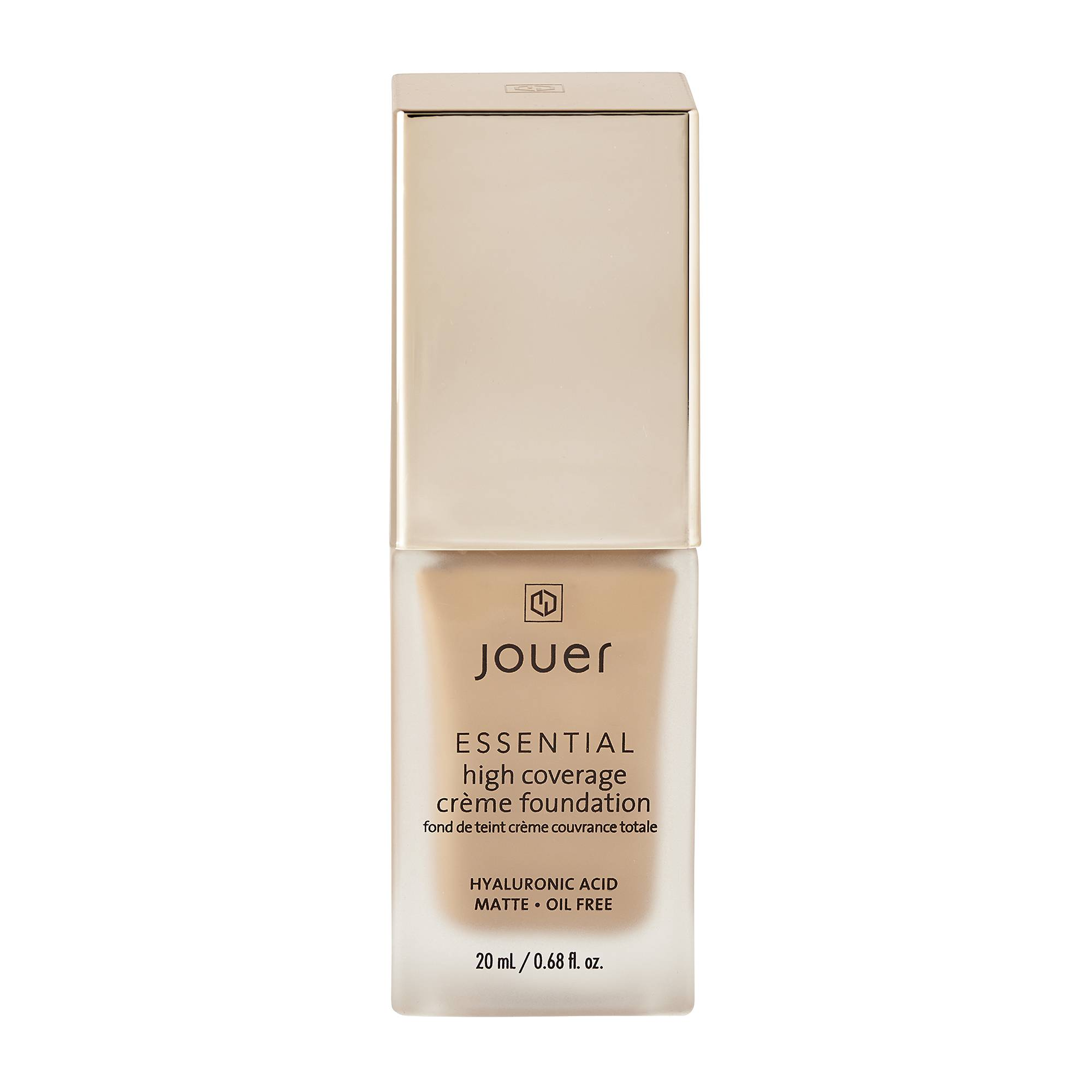 Jouer Cosmetics Essential High Coverage Creme Foundation Nutmeg 20ml