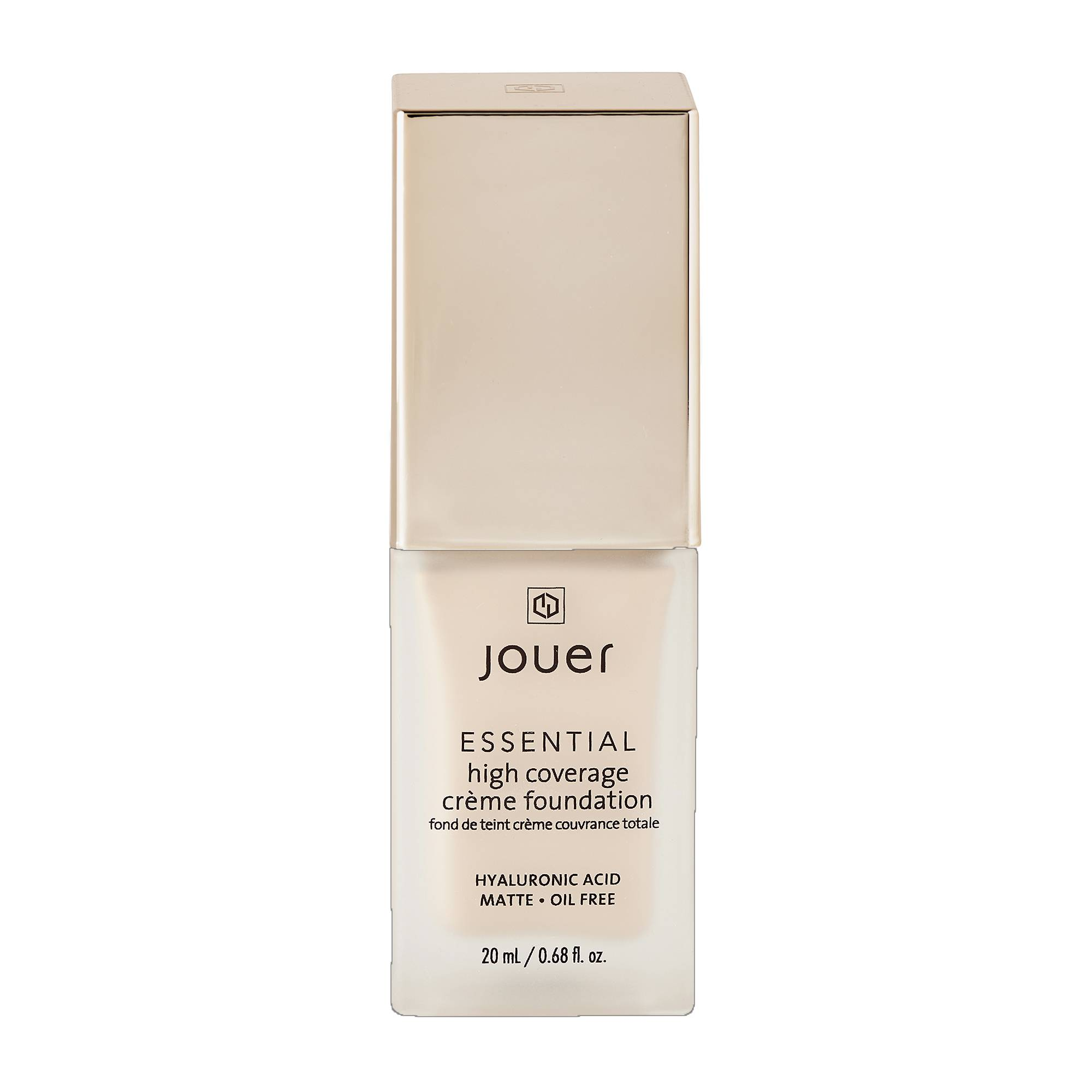 Jouer Cosmetics Essential High Coverage Creme Foundation Buff 20ml