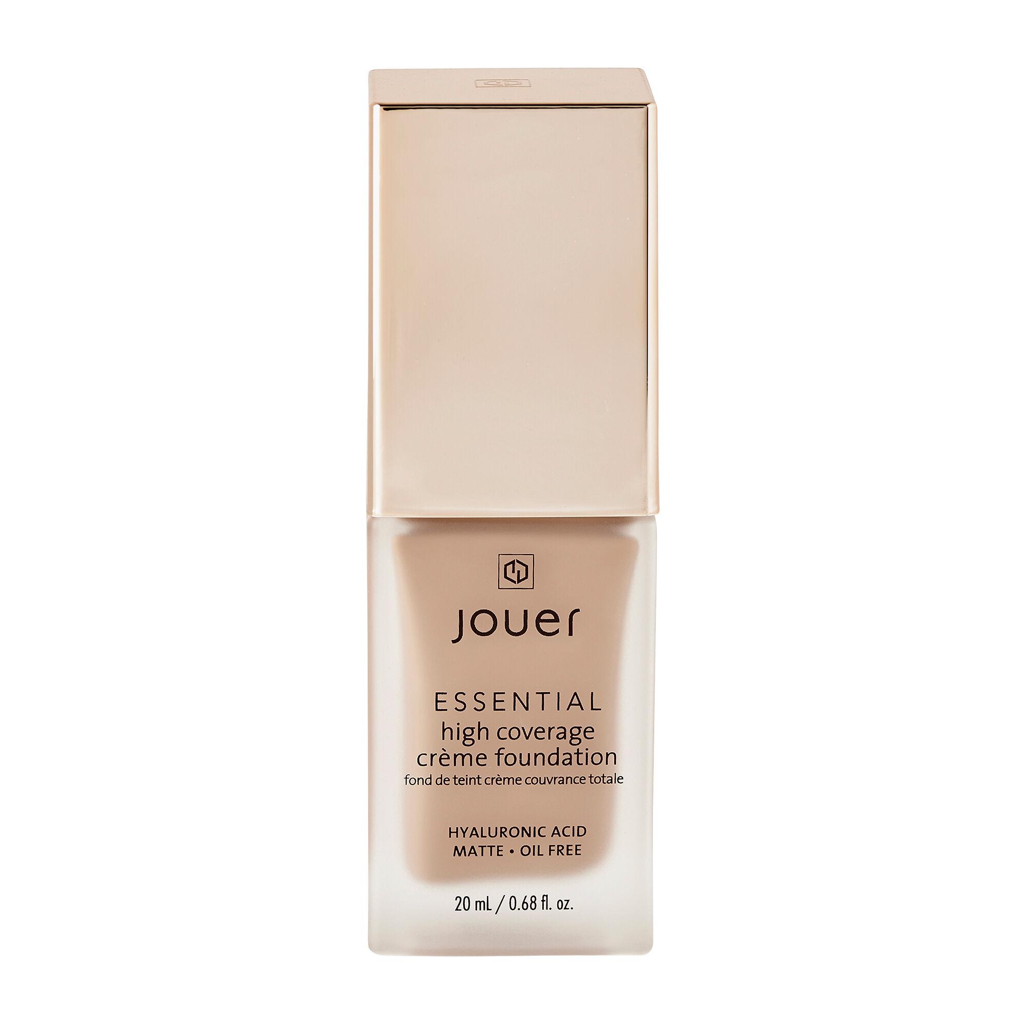 Jouer Cosmetics Essential High Coverage Creme Foundation Cashew 20ml