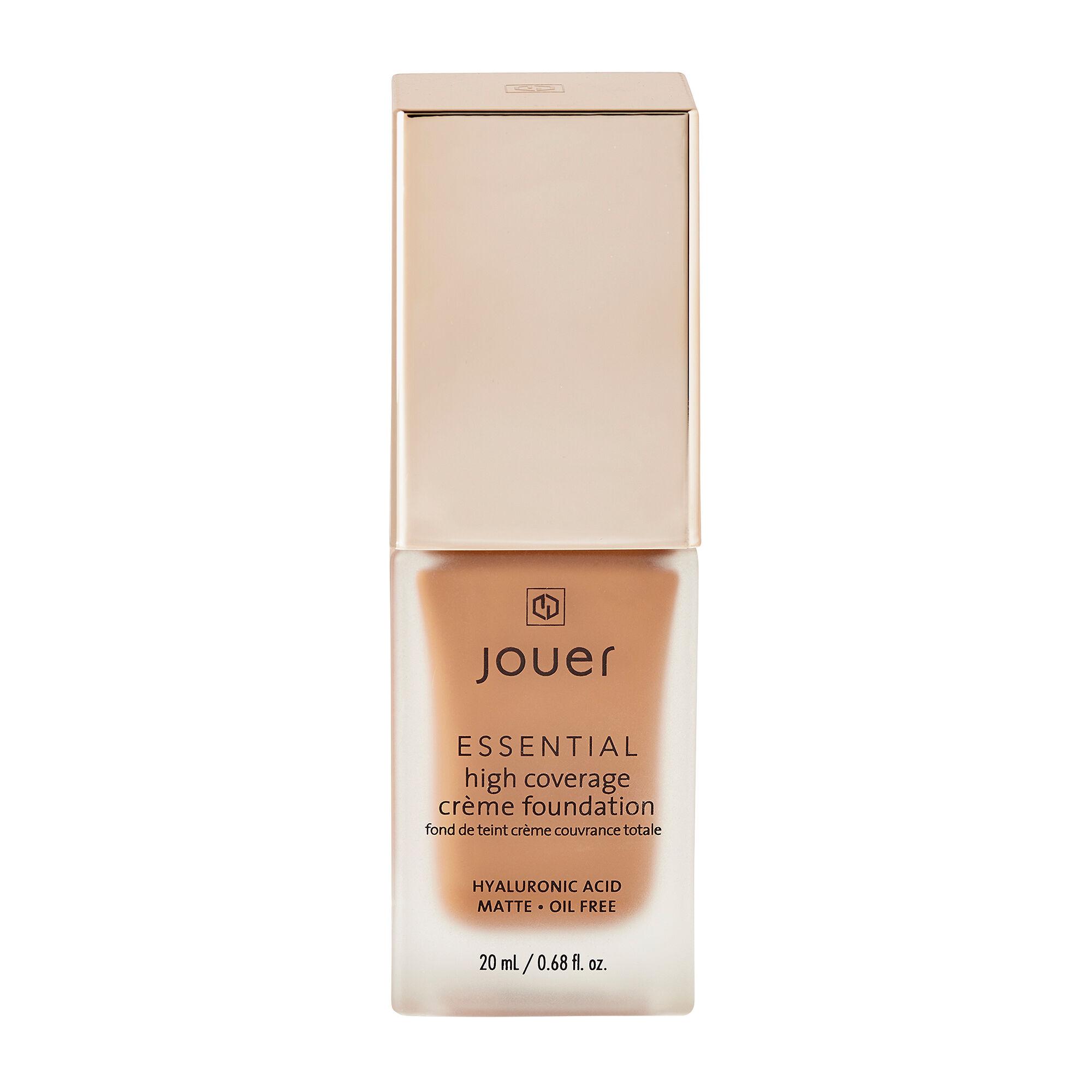 Jouer Cosmetics Essential High Coverage Creme Foundation Pecan 20ml