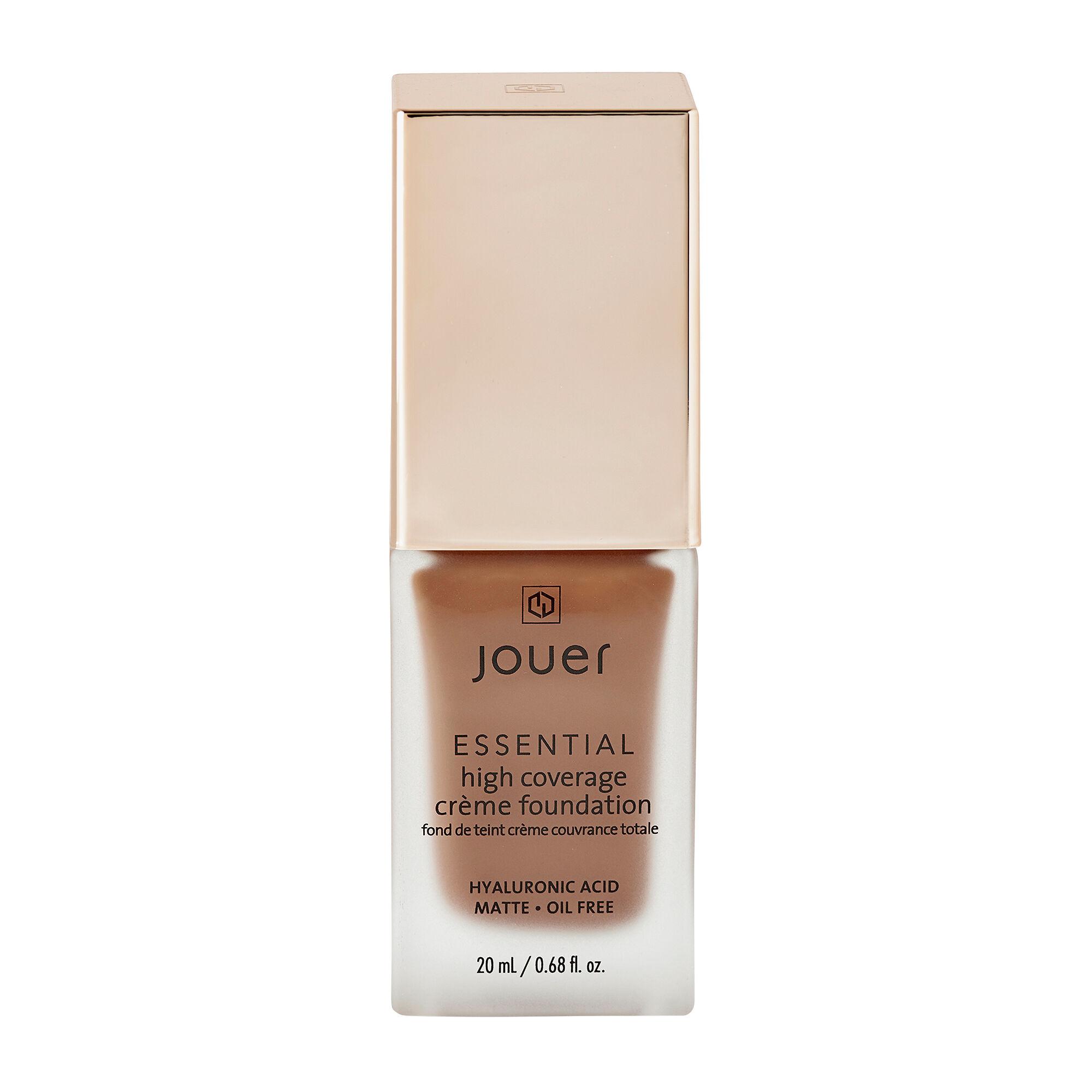Jouer Cosmetics Essential High Coverage Creme Foundation Chestnut 20ml