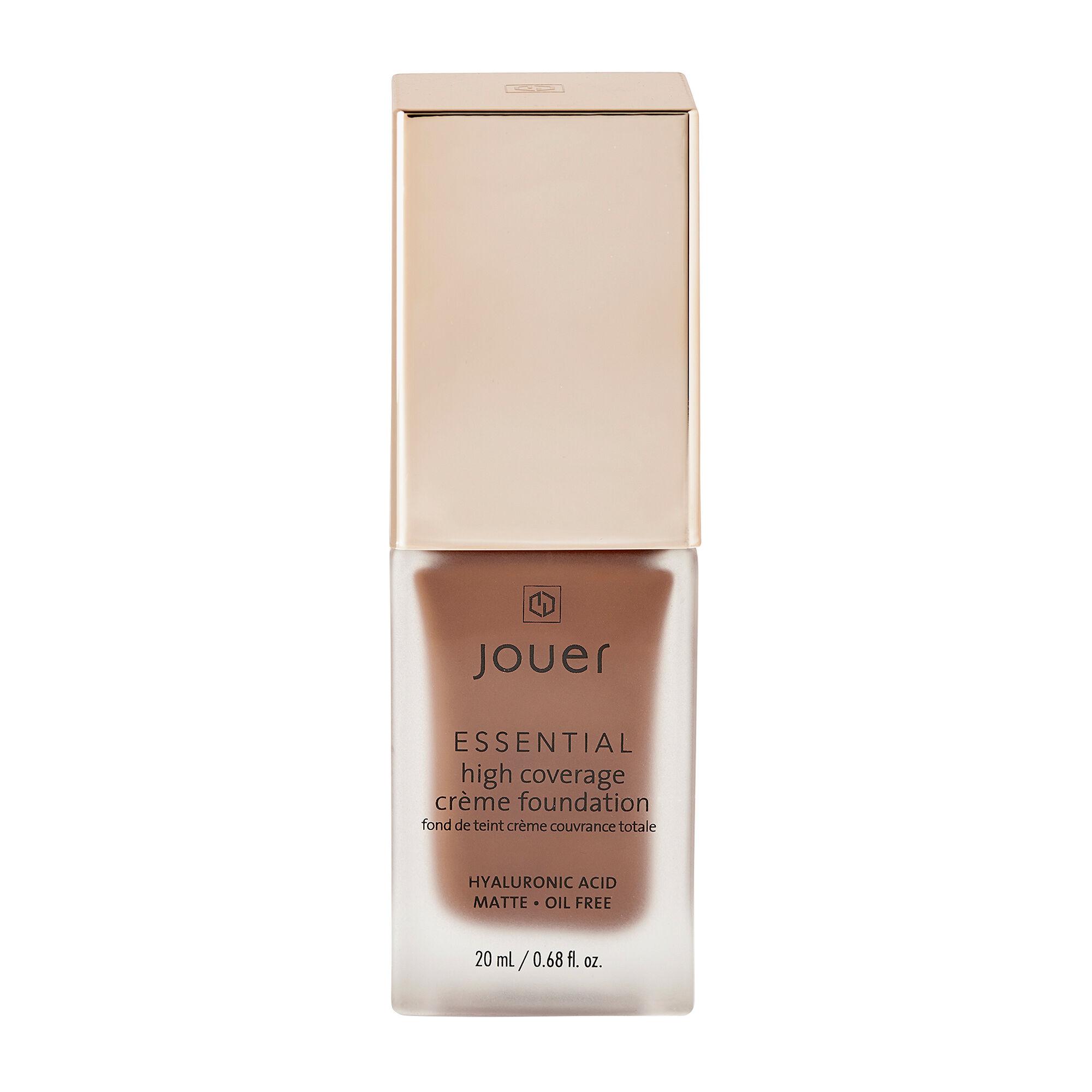 Jouer Cosmetics Essential High Coverage Creme Foundation Mahogany 20ml
