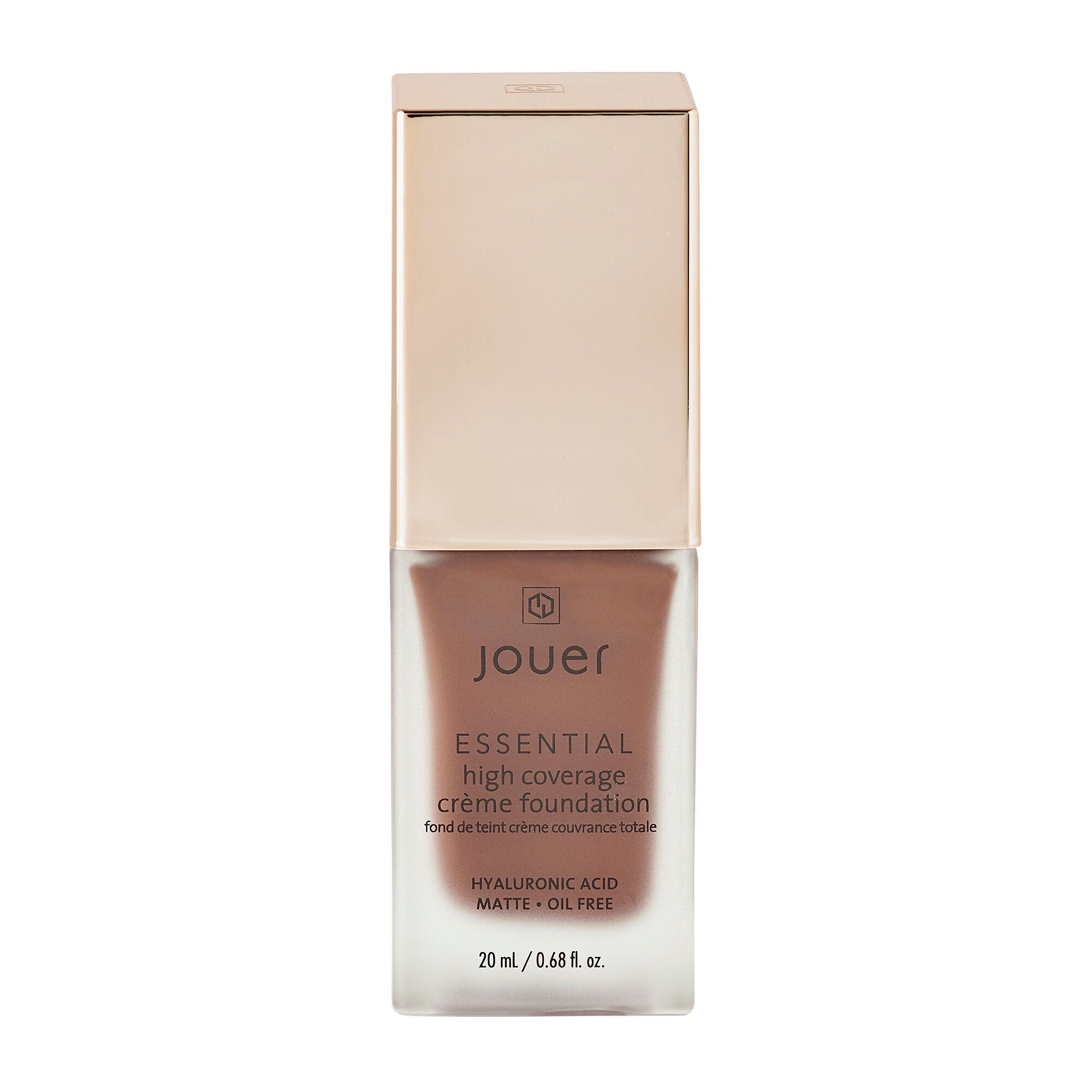 Jouer Cosmetics Essential High Coverage Creme Foundation Caviar 20ml