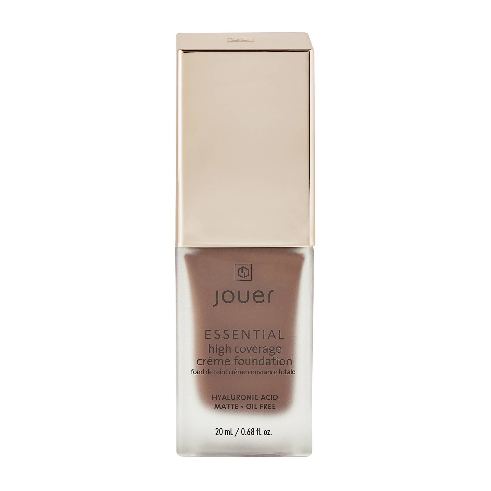 Jouer Cosmetics Essential High Coverage Creme Foundation Caviar 20ml