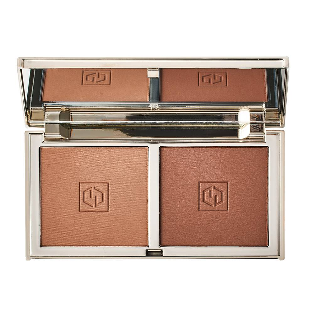 Jouer Cosmetics Sunswept Bronzer Duo Sunglow & Sungaze