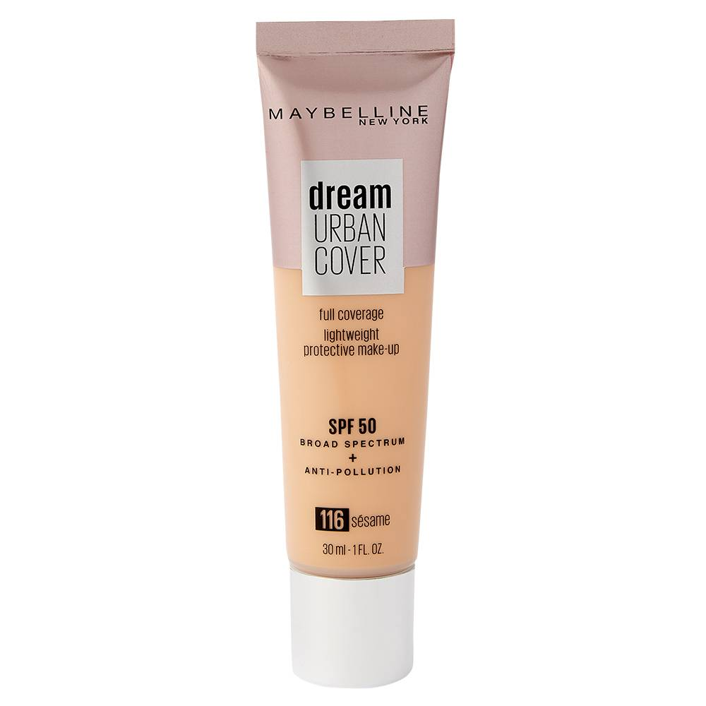 Maybelline Dream Urban Cover SPF 50 Foundation 116 Sesame 121ml