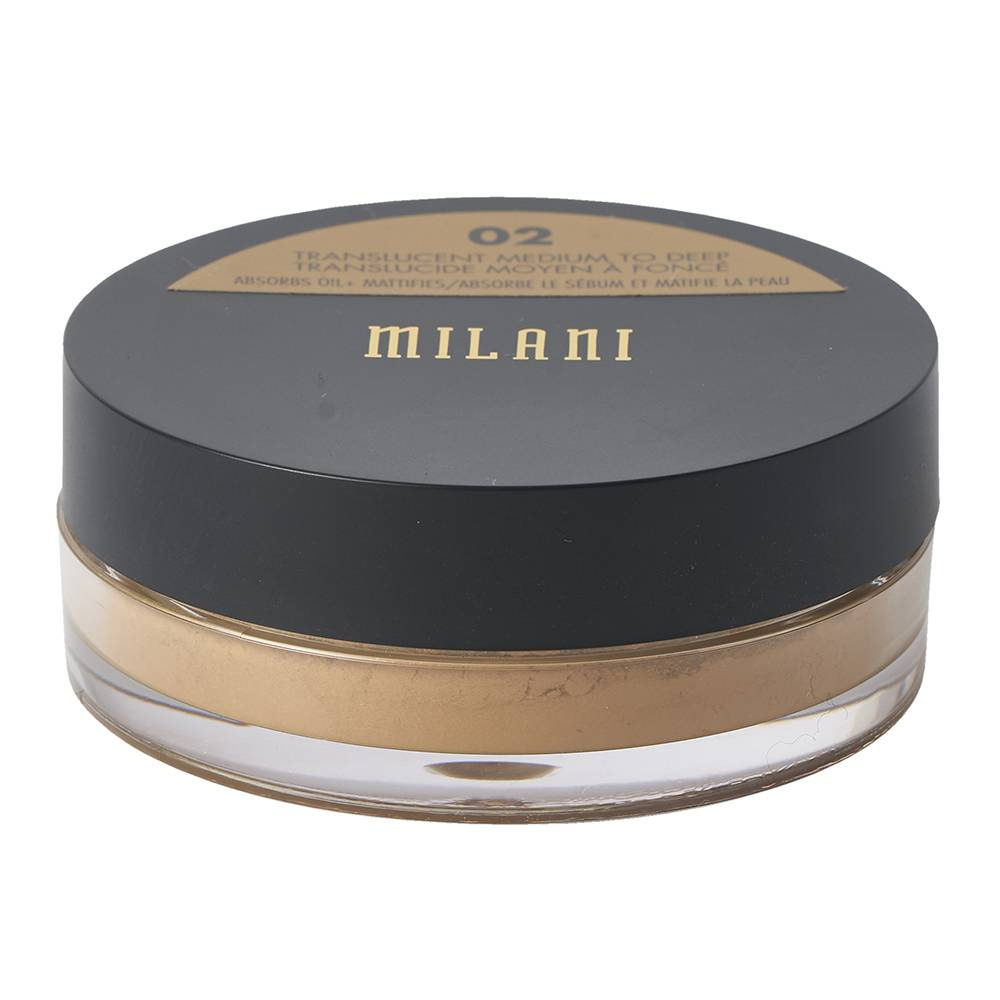 Milani Make It Last Setting Powder Translucent Medium To Deep 3.5g