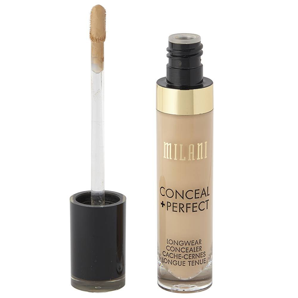 Milani Conceal And Perfect Long Wear Concealer 130 Light Beige 5ml