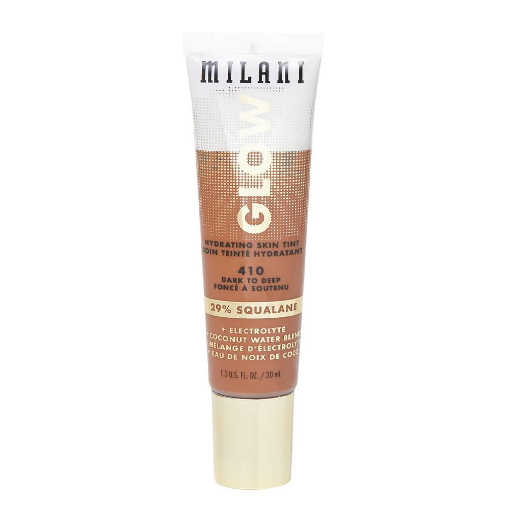 Milani Glow Hydrating Skin Tint 410 Dark to Deep 30ml