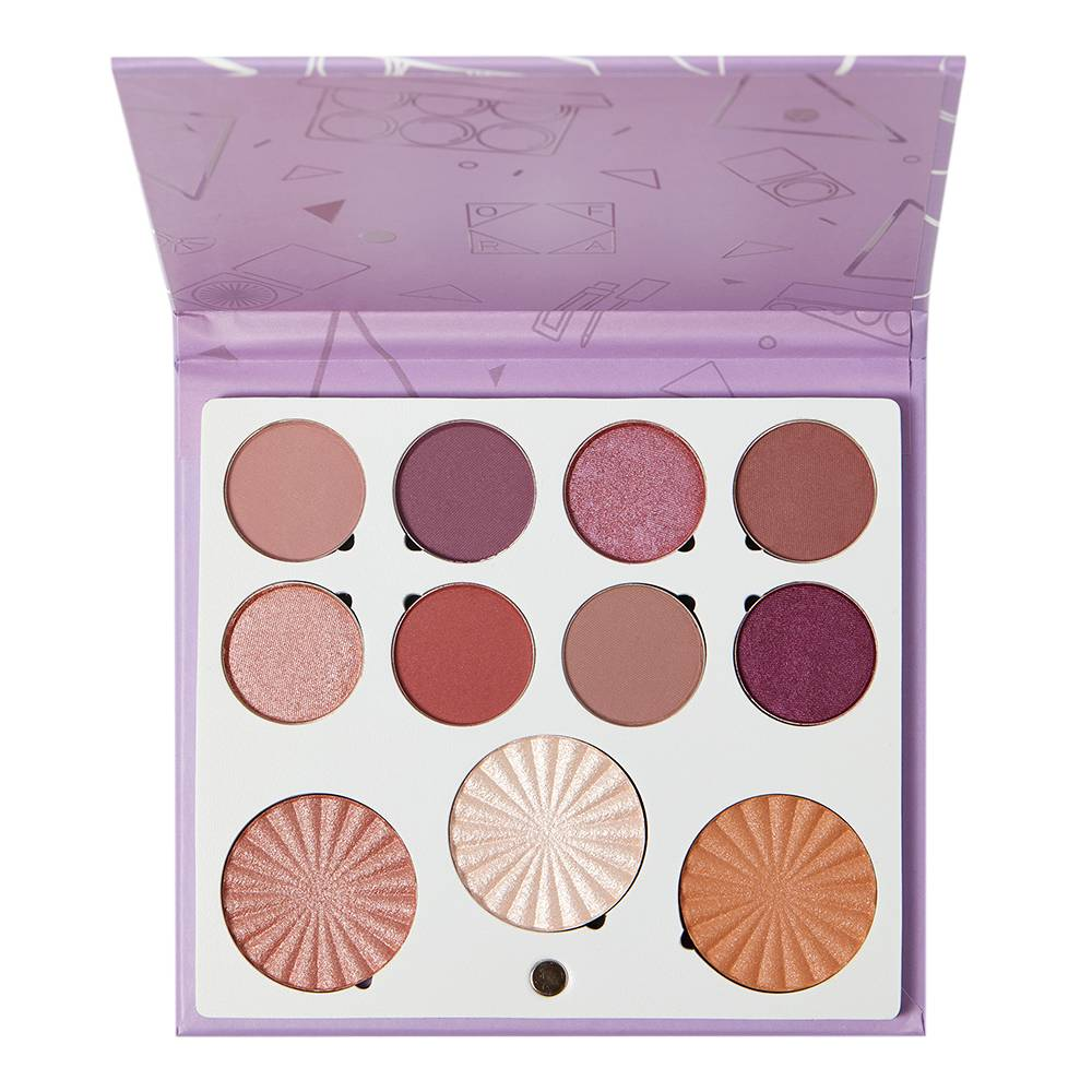 Ofra X Samantha March Life's a Draft Mini Mix Face Palette