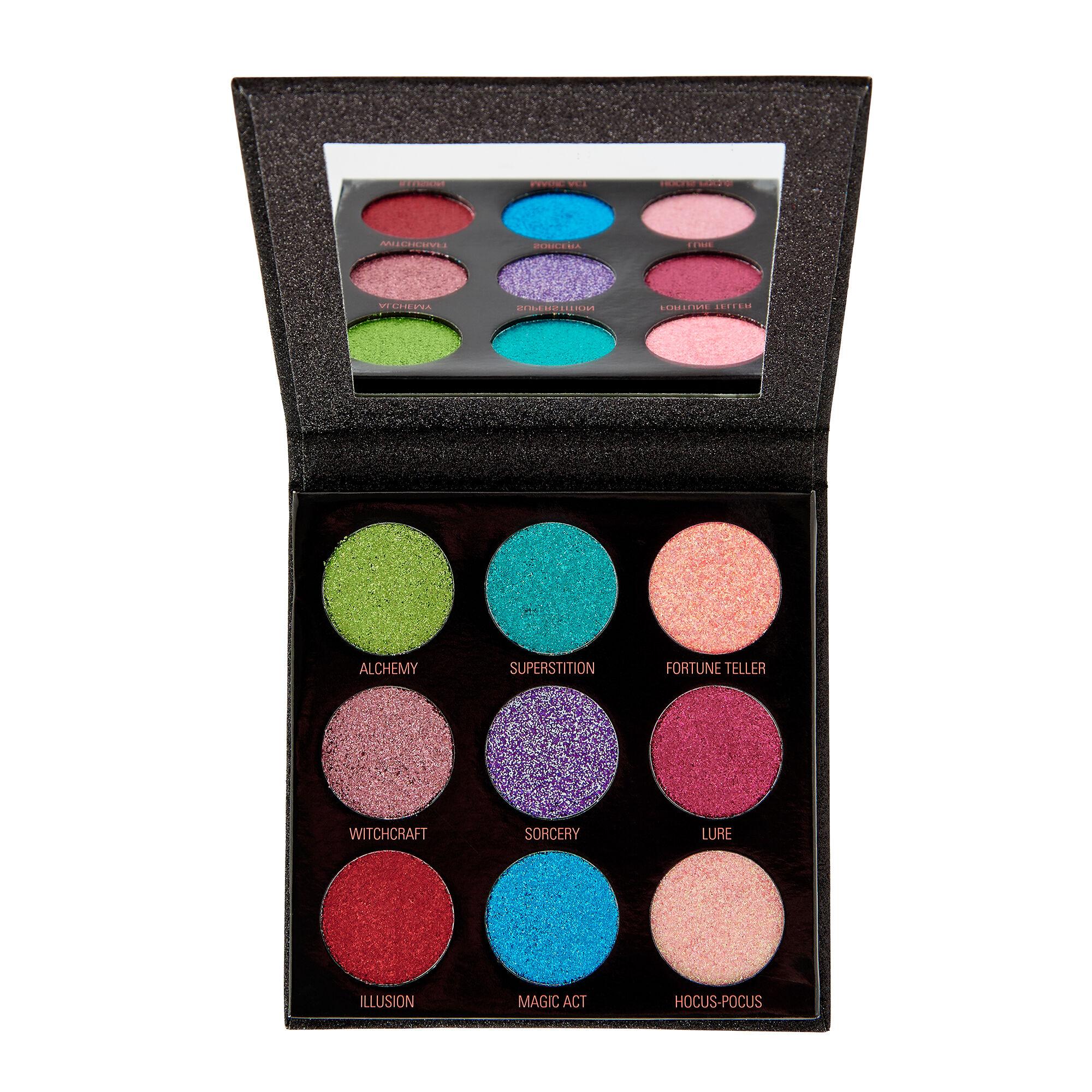 Makeup Revolution Pressed Glitter Palette Abracadabra 14g