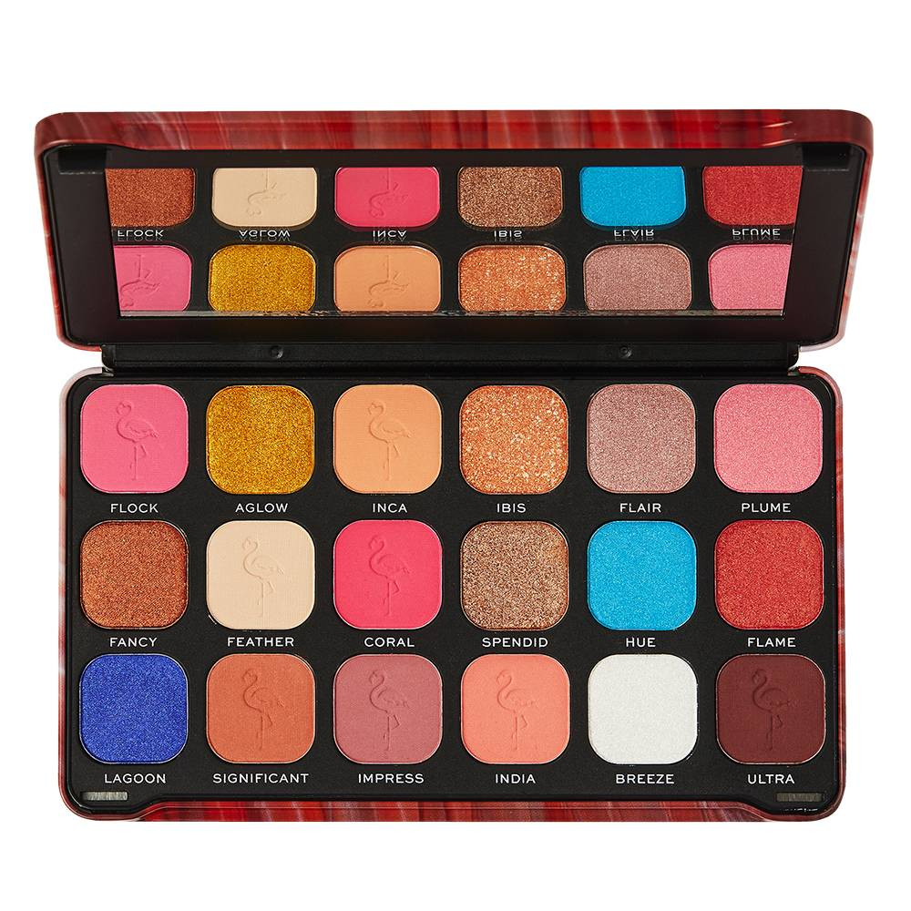 Makeup Revolution Forever Flawless Flamboyance Flamingo Palette