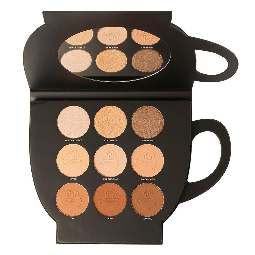 Makeup Revolution Revolution X Friends Grab a Cup Face Palette Light to Medium