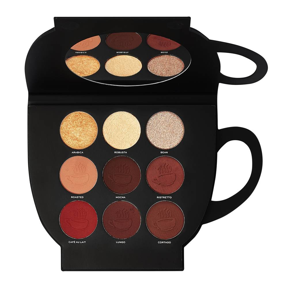 Makeup Revolution Revolution X Friends Grab a Cup Face Palette Dark to Deep