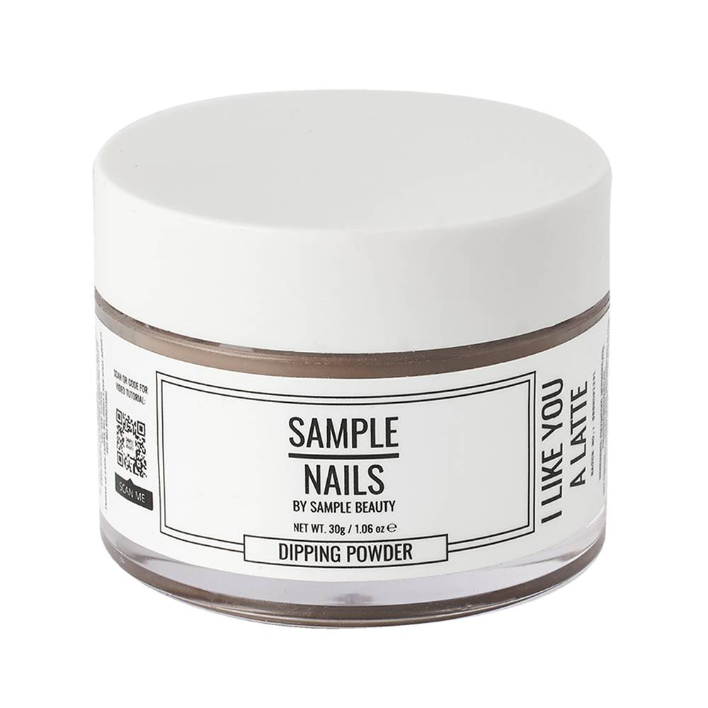 Sample Beauty Nail Dipping Powder I Like You A Latte