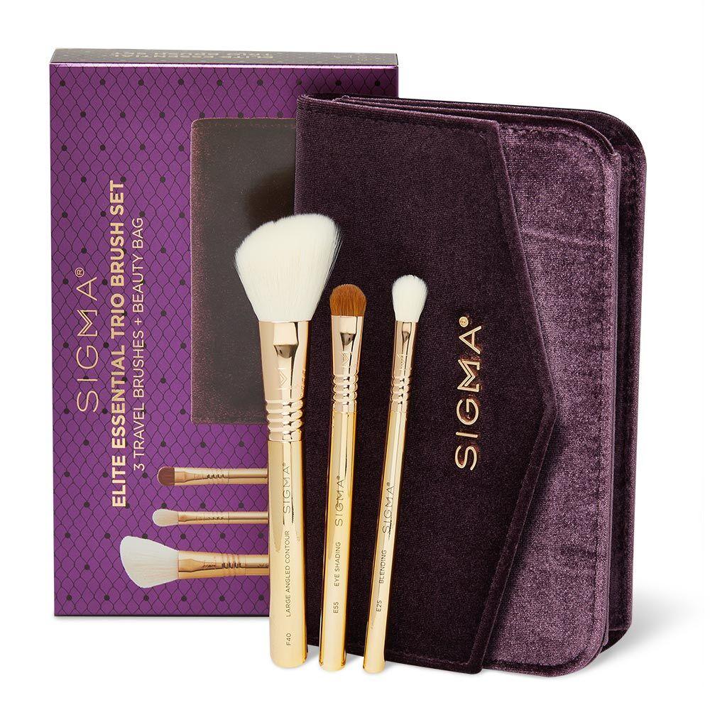 Sigma Beauty Elite Essential Trio Brush Set