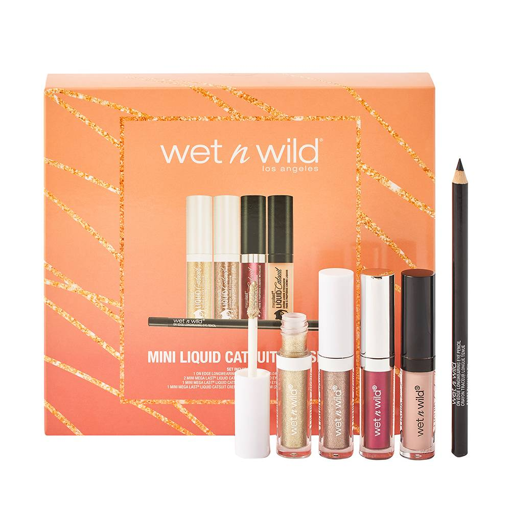 wet n wild Mini Liquid Catsuit Eye Set 22.5ml