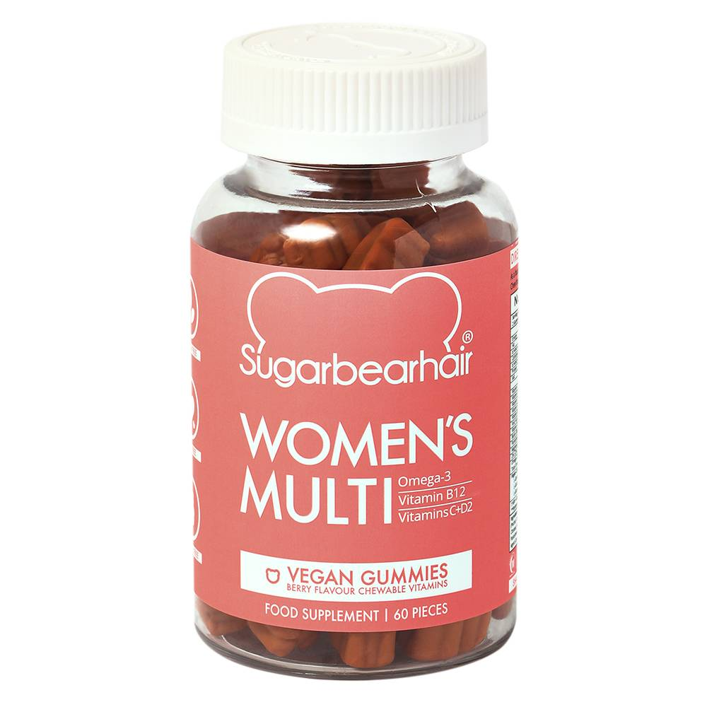 SugarBearHair Women's Multi Vitamins 1 Month Supply Vegan