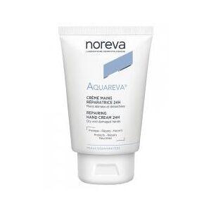 Noreva Aquareva Crème Mains Réparatrice 24H 50 ml - Tube 50 ml - Publicité