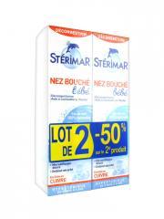 Stérimar Bébé Enfant Nez Bouché Lot de 2 x 100 ml - Lot 2 x 100 ml