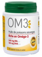 OM3 Huile de Poissons Sauvages 120 Capsules - Boîte 120 capsules