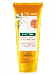 Klorane Polysianes Gel-Crème Solaire Sublime au Tamanu Bio et Monoï SPF30 200 ml - Tube 200 ml