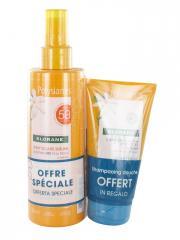 Klorane Polysianes Spray Solaire Sublime au Tamanu Bio et Monoï SPF50 200 ml + Shampoing Douche Après-Soleil au Monoï 75 ml Offert - Lot 2 produits