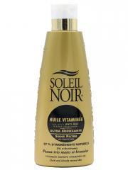 Soleil Noir Huile Vitaminée Ultra-Bronzante Sans Filtre 150 ml - Flacon 150 ml