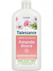 Natessance Crème de Douche Amande Douce 500 ml - Flacon 500 ml