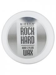 Biosilk Rock Hard Cire Coiffante Fixation Forte 54 g - Pot 54 g