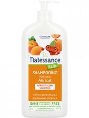 Natessance Kids Shampoing Tout Doux Abricot 500 ml - Flacon-Pompe 500 ml