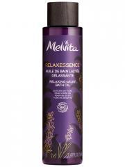 Melvita Relaxessence Huile de Bain Lactée Délassante Bio 140 ml - Flacon 140 ml