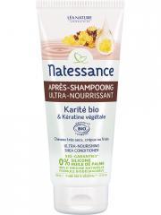 Natessance Après-Shampooing Ultra-Nourrissant Karité Bio et Kératine Végétale 200 ml - Tube 200 ml