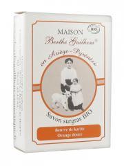 Maison Berthe Guilhem Savon Surgras Bio Beurre de Karité Orange Douce 100 g - Boîte 100 g