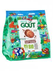 Good Goût Kidz Mini Cookidz Nappés Tout Chocolat Bio 115 g - Sachet 115 g