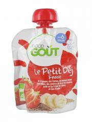 Good Goût Le Petit Déj Fraise dès 6 Mois Bio 70 g - Gourde 70 g