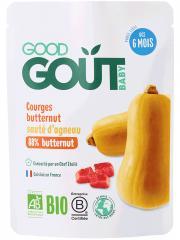 Good Goût Courge Butternut Sauté d'Agneau dès 6 Mois Bio 190 g - Sachet 190 g