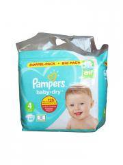 Pampers Baby-Dry 68 Couches-Culottes Taille 4 (9-14 kg) - Paquet 68 couches-culottes