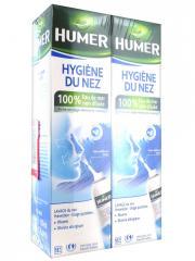 Humer Hygiène Du Nez Adulte Lot de 2 x 150 ml - Spray nasal 2 x 150 ml