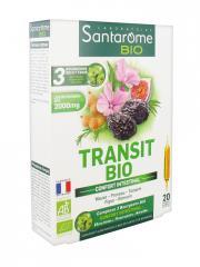 Santarome Bio Transit Bio 20 Ampoules - Boîte 20 ampoules de 10 ml