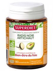 Super Diet Radis Noir Artichaut Bio 80 Comprimés - Pot 80 Comprimés