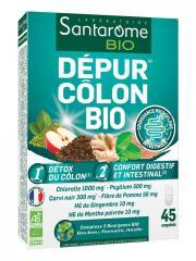 Santarome Bio Dépur Côlon Bio 45 Comprimés - Boîte 45 comprimés