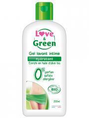 Love & Green Gel Lavant Intime Hydratant Bio 200 ml - Flacon 200 ml