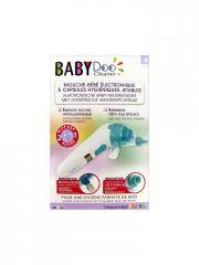 Visiomed BabyDoo Mouche Bébé Electronique avec Diffuseur de Sérum Physiologique MX6-One - Boîte 1 mouche-bébé + accessoires