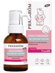 Pranarôm PranaBB Huile Massage Réconfort Ventre Bio 30 ml - Flacon-Pompe 30 ml