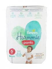 Pampers Harmonie Nappy Pants 18 Couches-Culottes Taille 6 (15+ kg) - Paquet 18 couches-culottes